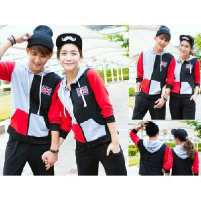 Jual Jacket Couple Jacket England Kombinasi - 23544