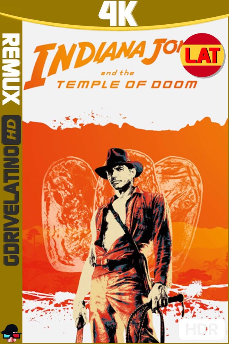 Indiana Jones y el Templo Maldito (1984) BDRemux 4K HDR Latino-Ingles MKV