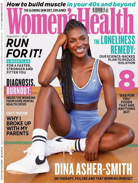 Dina Asher-Smith – Women's Health (UK – March 2021)