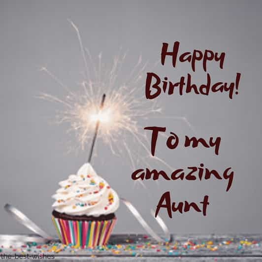 images of happy birthday to my amazing auntie