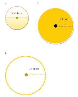 Hitunglah luas lingkaran berikut! www.simplenews.me