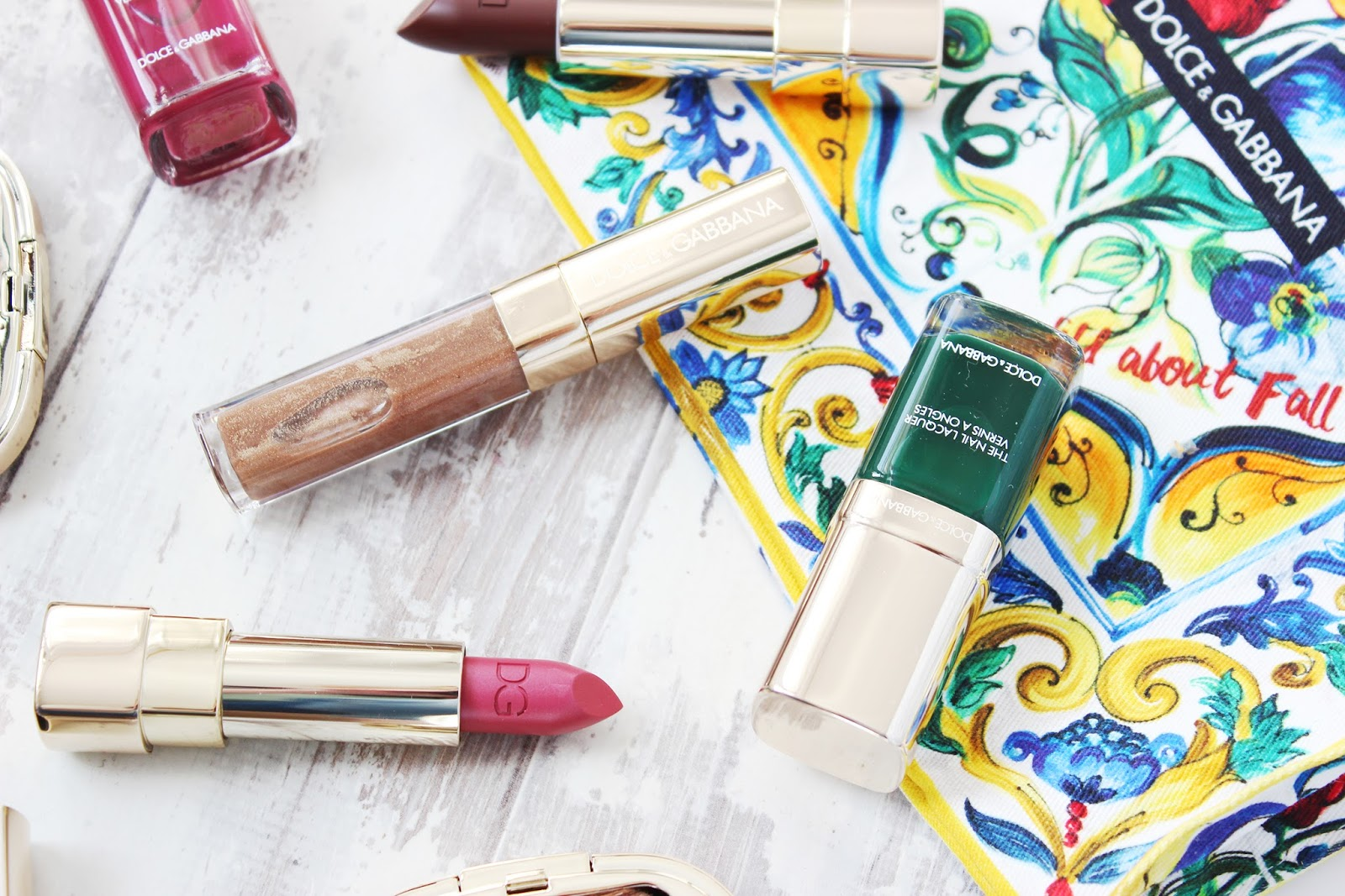 Dolce & Gabbana Wild about fall makeup collection review and swatches
