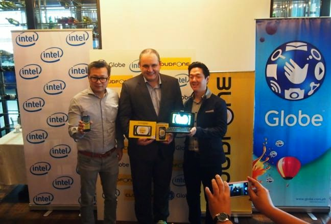 CloudFone, Intel and Globe Telecom Launched CloudFone Epic 7.0