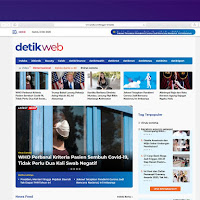 Detikweb Website Berita Online Template Blogger
