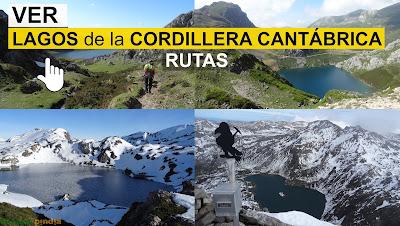 Ver lagos de la Cordillera Cantábrica