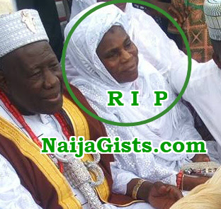 olubadan of ibadan first wife dead
