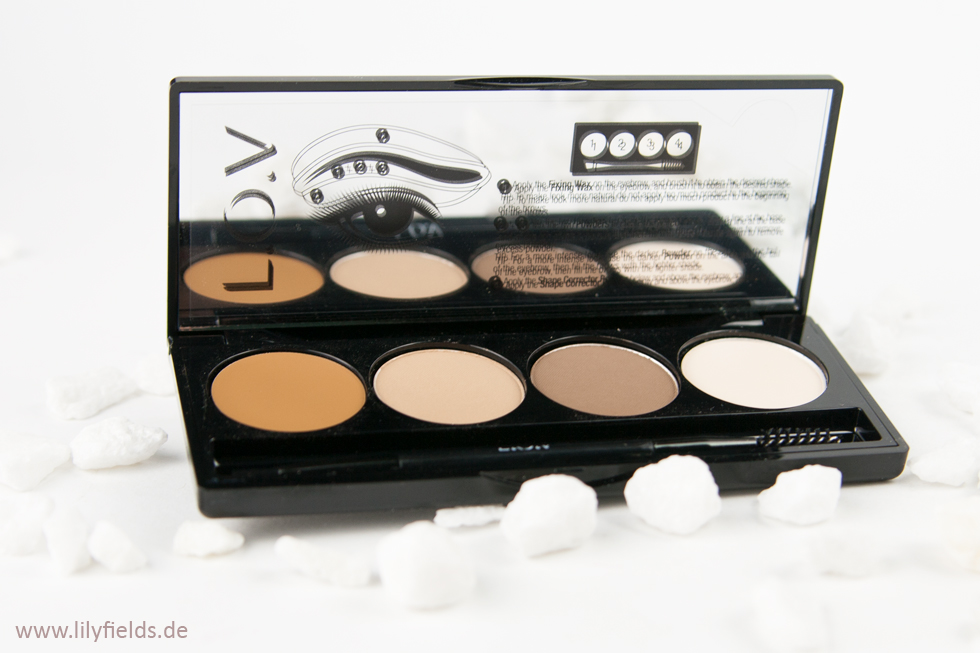 L.O.V. BROWttitude Eyebrow Contouring Palette - Blonde Attitude
