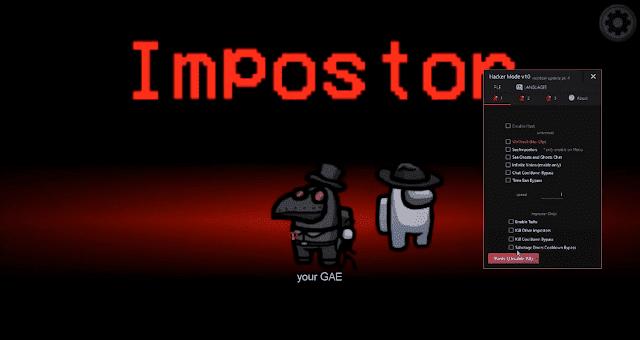 Among Us PC Impostor Hilesi - Vulkan Menü İmpostor PC Son Sürüm