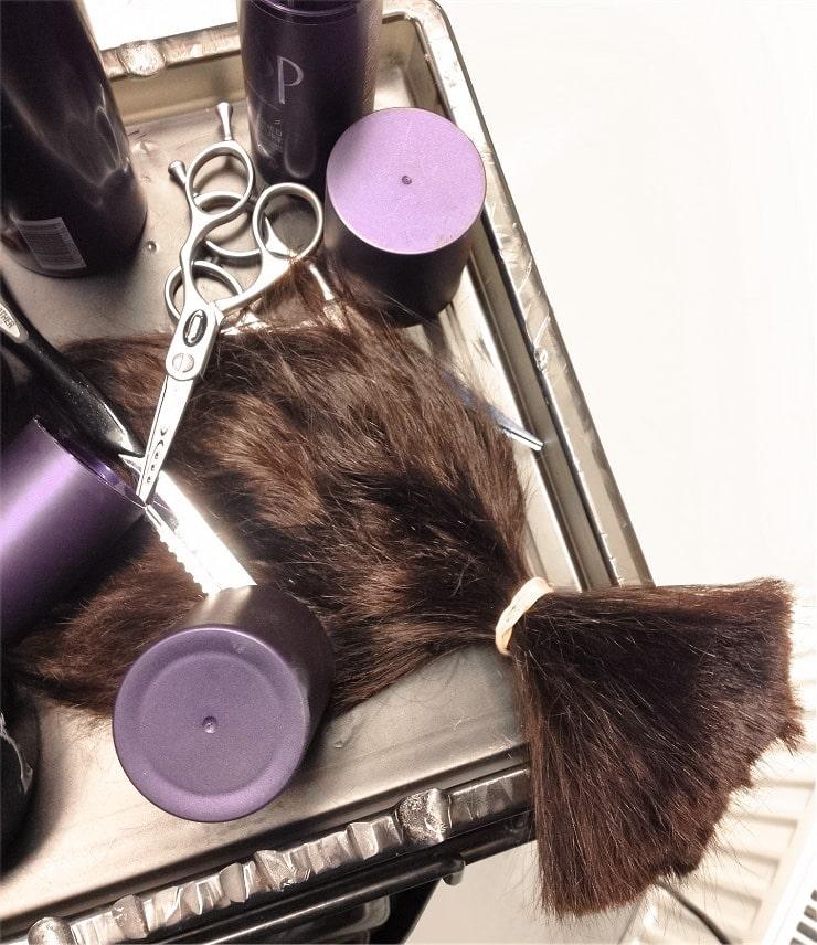 Consecuencias de las horquillas en el cabello