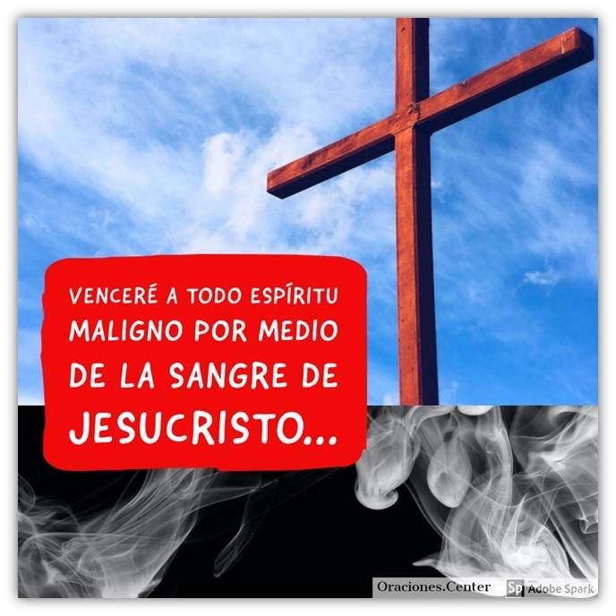 Oración Poderosa de la Sangre de Cristo - Para Expulsar Espíritus Malignos