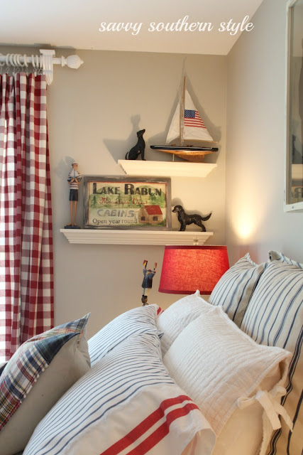 Nautical Themed Bedroom Decor: I Love That Junk: Nautical Styled Bedroom