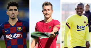 Monchu and other Barca B player drop by Koeman, rumoured  to leave the club soon.