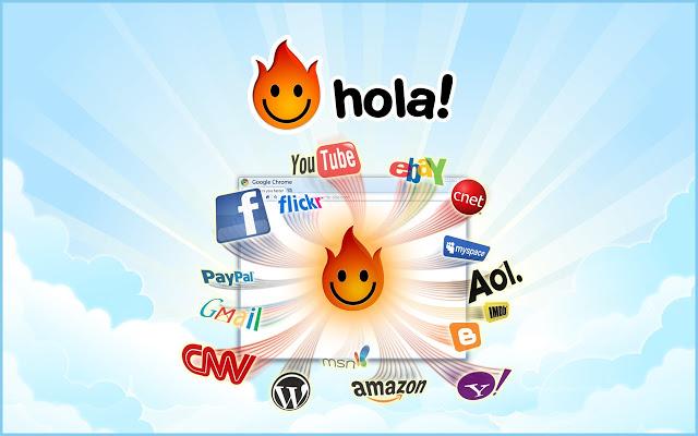 تحميل برنامج هولا مجاني Hola Free VPN Proxy مجانا