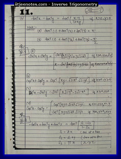 inverse trigonometry function5