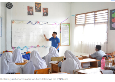 DUH, Guru Honorer di bawah Kemenag Tak Bisa Ikut Seleksi PPPK 2021