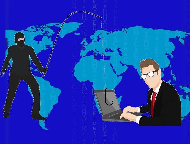 الاحتيال الالكتروني من خلال البرامج الضارة
