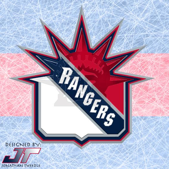 Tweedle s Jersey Blog  Rebrand Series  New York Rangers f99c9d439