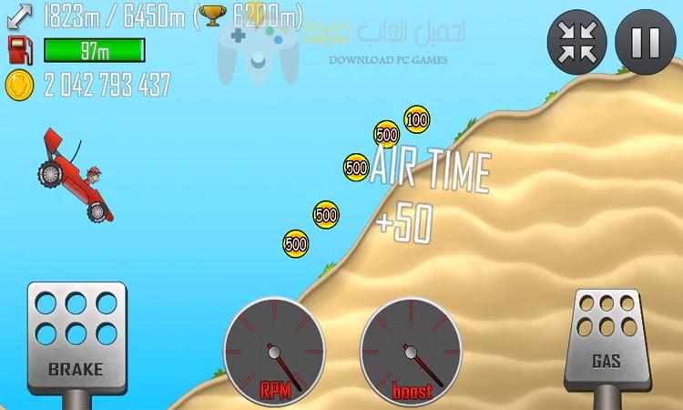 تحميل لعبة Hill Climb Racing من ميديا فاير