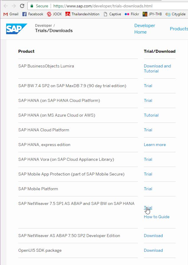 Par's Blog: Setting up SAP ABAP/BW/HANA 7 50 Platform in