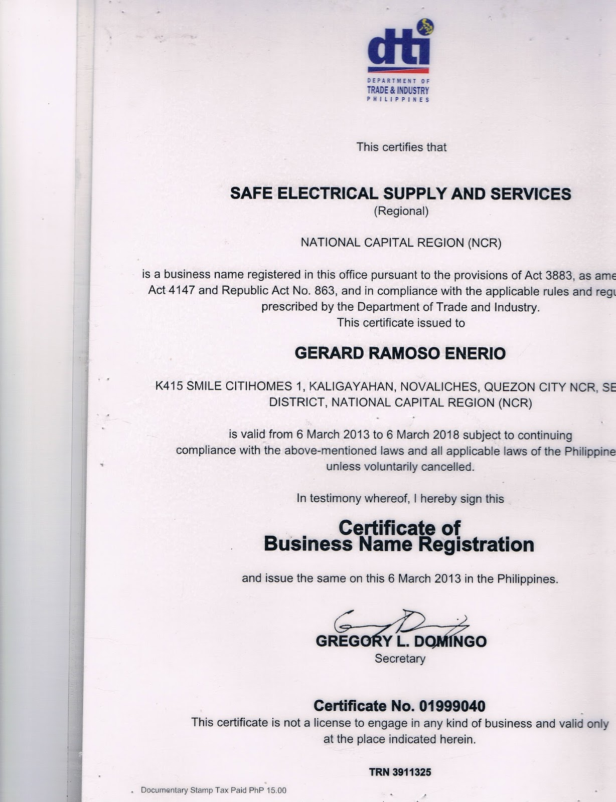 Your Philippine Online Electrical Supplier Contracto Skype