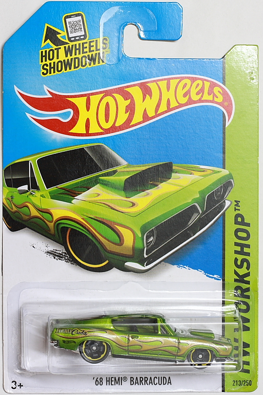 '68 Hemi Barracuda - Hot Wheels