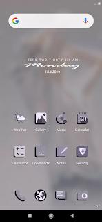 slowly theme