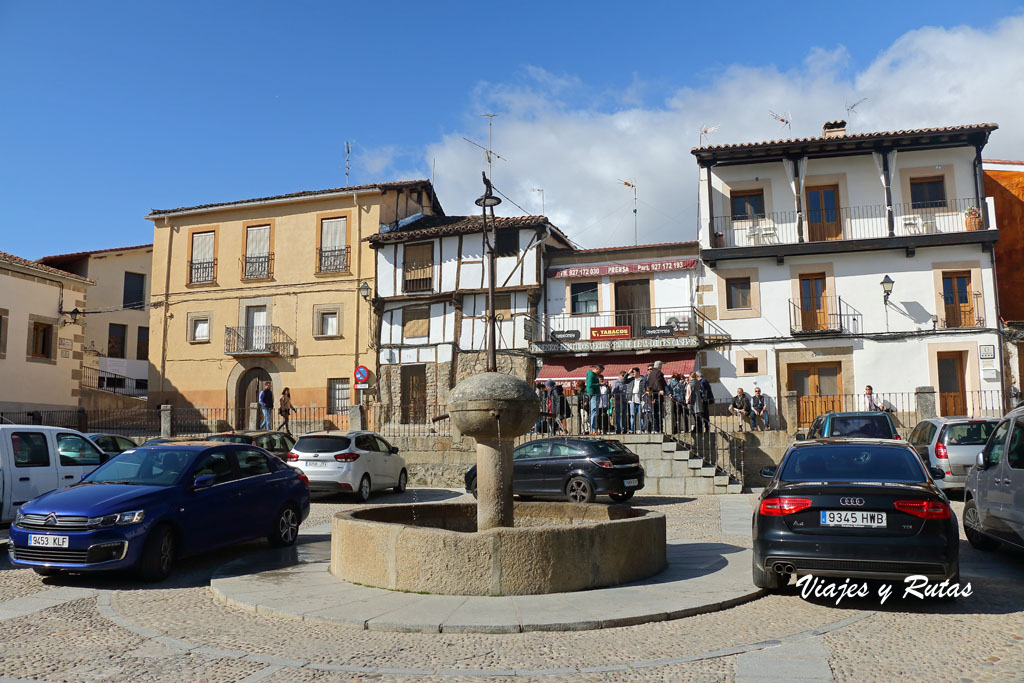 Plaza Mayor de Cuacos de Yuste