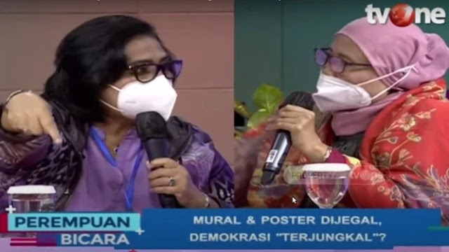 Panas, Irma Nasdem ke Chusnul Mariyah: Itu Bohong dan Fitnah!