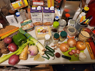 All the ingredients