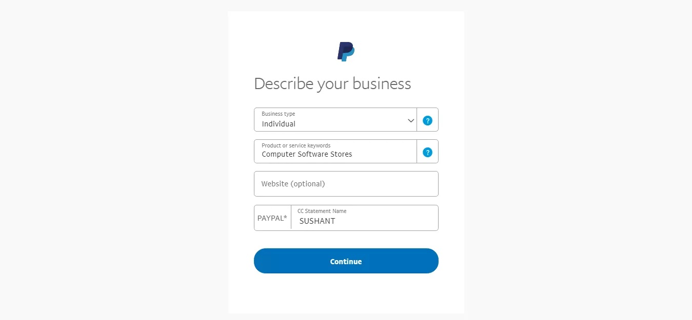 Create Verified PayPal Account in Nepal