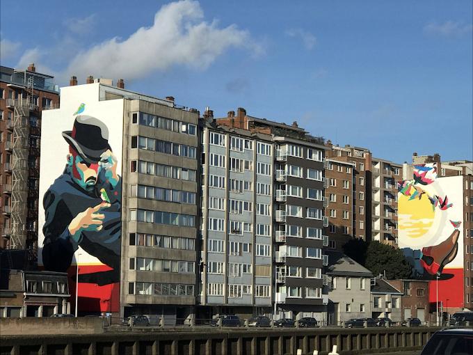 Liège : le street art redonne des couleurs à la Cité Ardente.