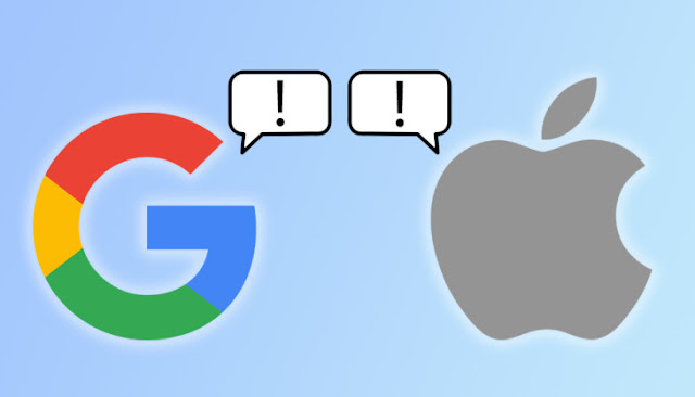 Google's and Apple's contact tracing for COVID-19