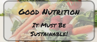 Good nutrition is sustainable