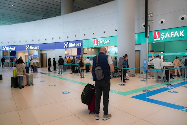 Travel Tips Covid-19 Test Info At Istanbul Airport