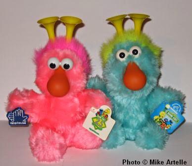 Mikey's Muppet Memorabilia Museum: Sesame Street: 1990-1999