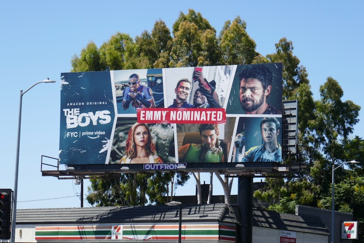 Boys 2020 Emmy nominee billboard