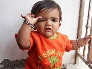 Cute Baby in India