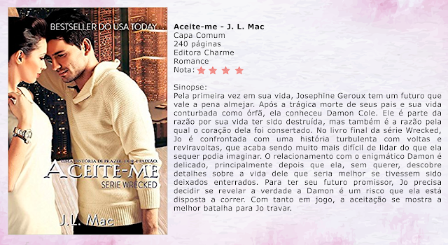 Aceite-me - Wrecked #03 - J. L. Mac
