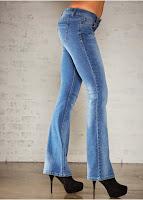 Jeanși cu talie joasă