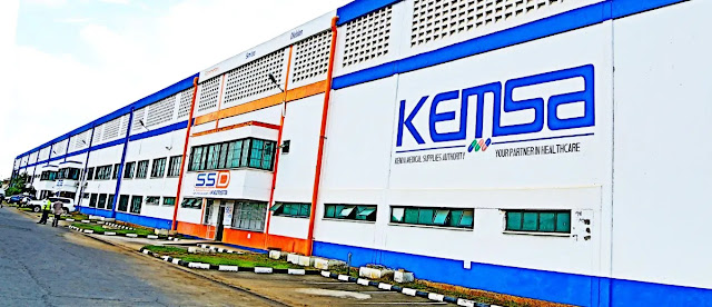 KEMSA headquarters offices in Nairobi