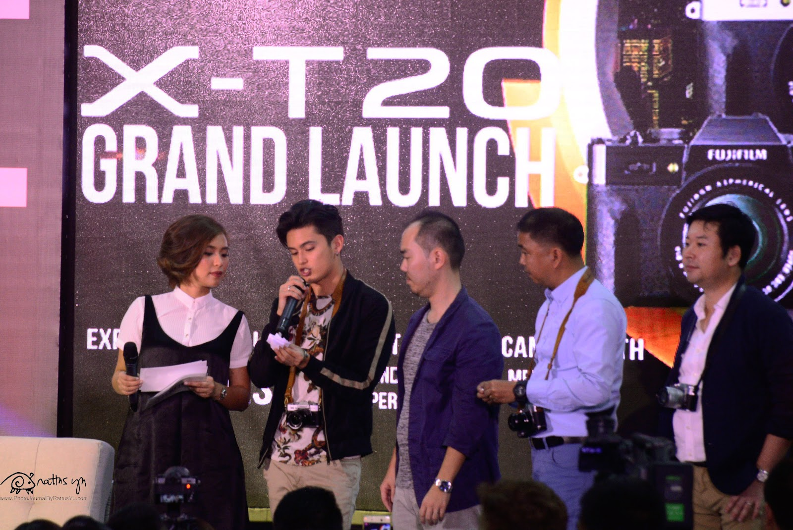Fujifilm Philippines Launches the X-T20 with James Reid, Glorietta Activity Center