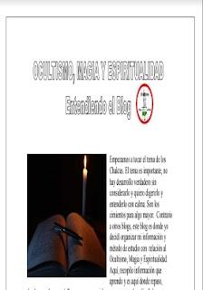 Entendiendo el Blog Ocultismo,Magia y Espiritualidad