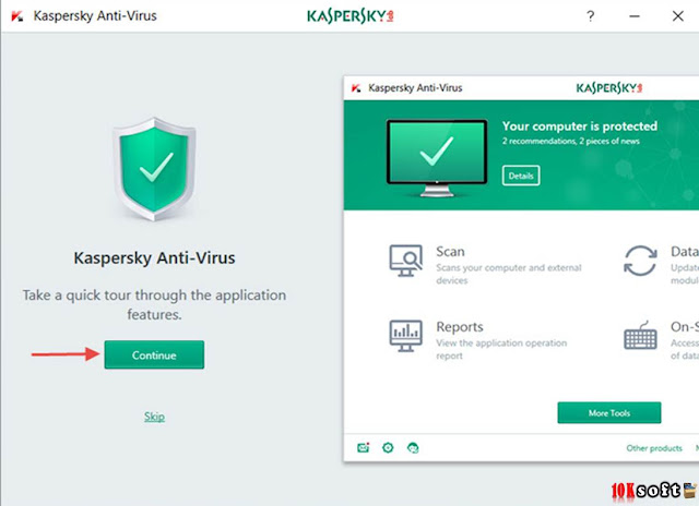 Kaspersky Antivirus 2017 Offline Installer Free Download