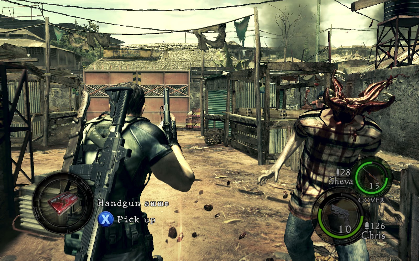 Selected Computer Games Resident Evil 5