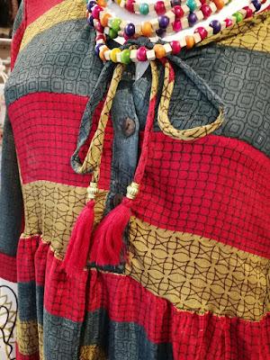 abbigliamento etnico boho