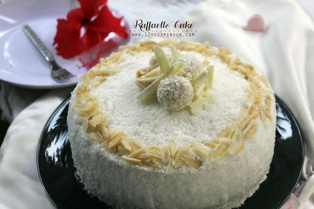 Raffaello Cake / Coconut Almond Cake