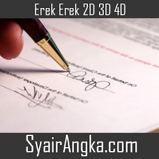 Erek Erek Menjadi Notaris 2D 3D 4D