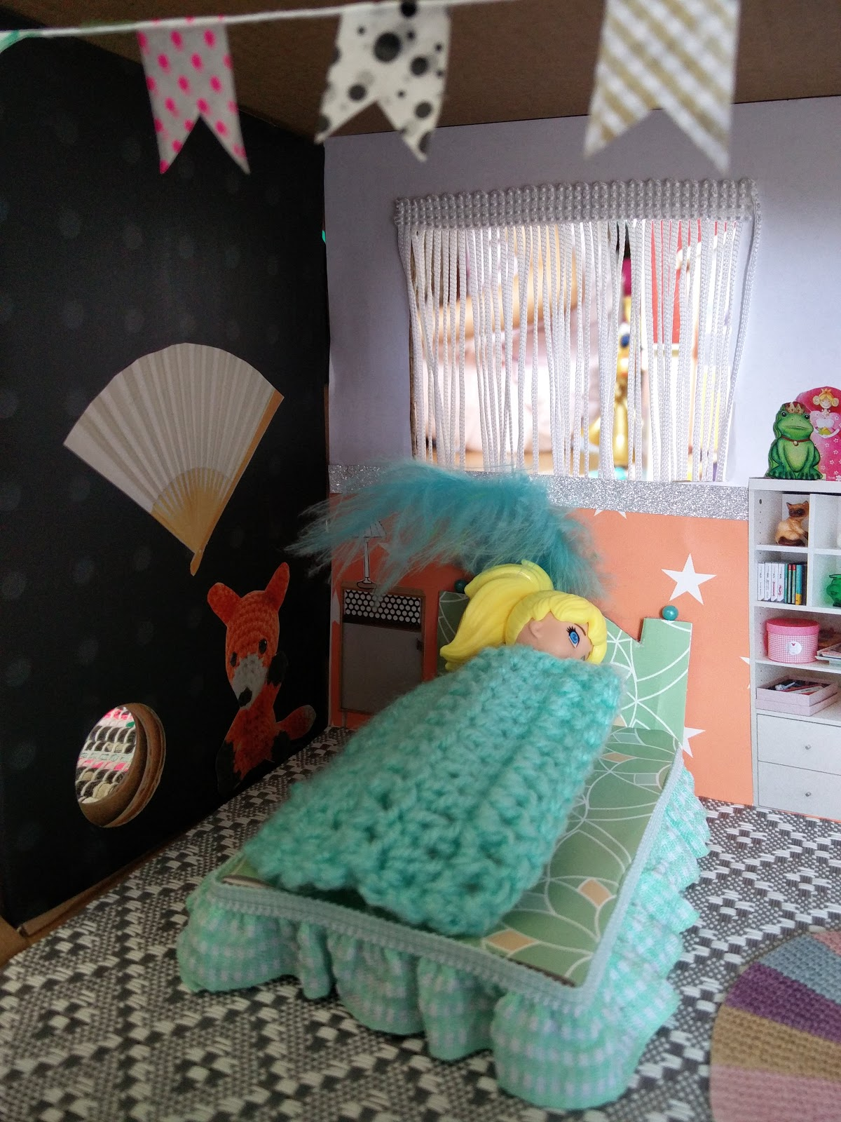 der bastelblog polly pocket haus in einem schuhkarton. Black Bedroom Furniture Sets. Home Design Ideas