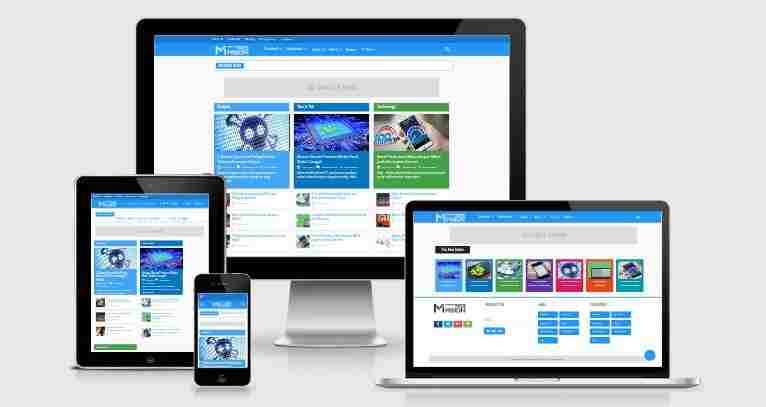 Masign Magz V4 - Premium Blogger Template Free Download.