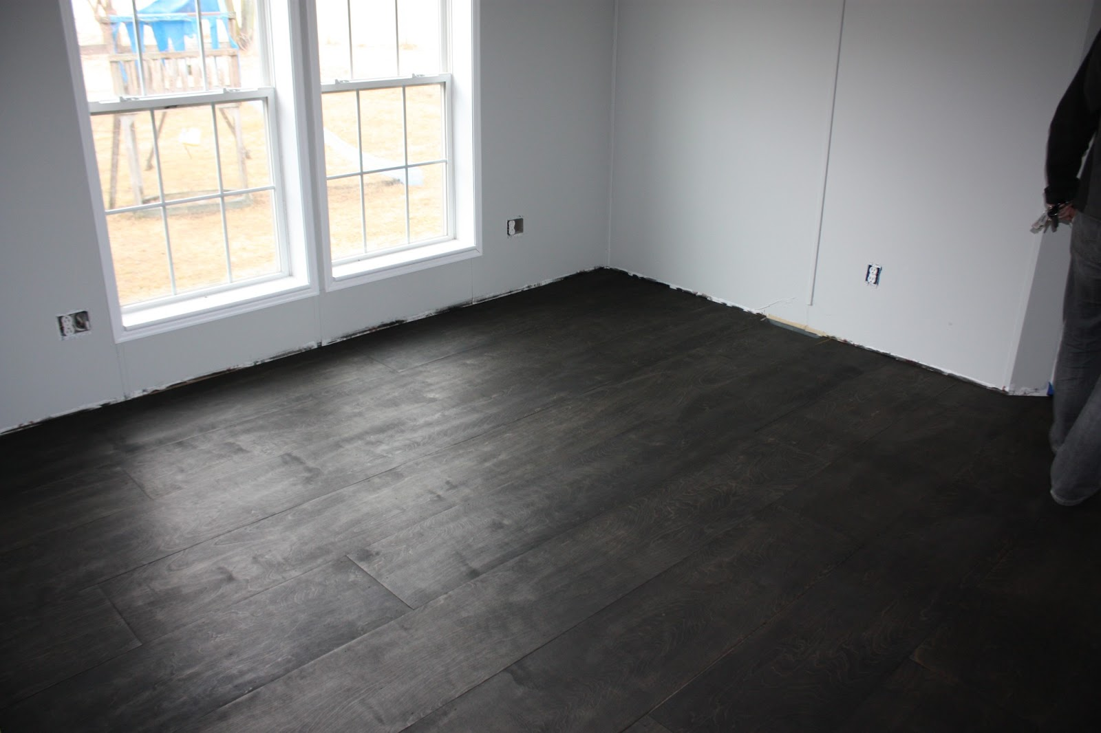All Quiet On The Midwestern Front Diy Plywood Floor Tutorial